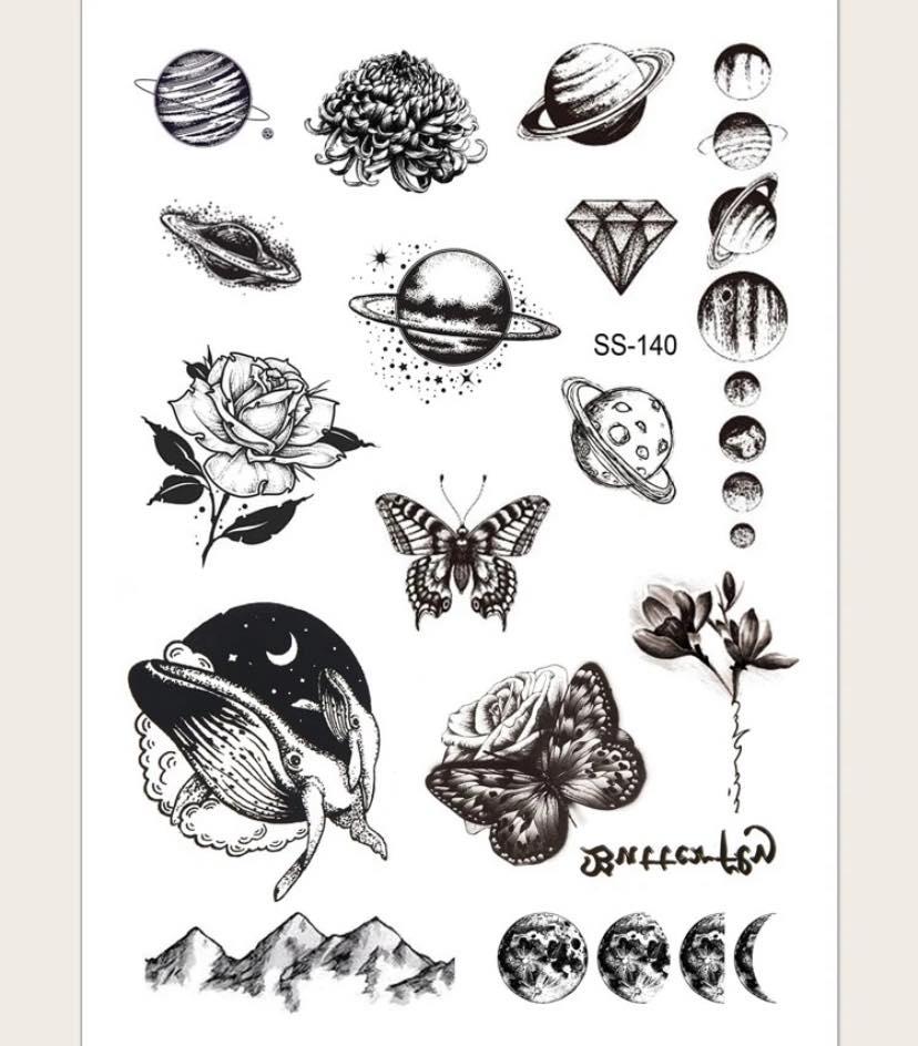 Hình xăm tattoo là gì - Tattoo sticker