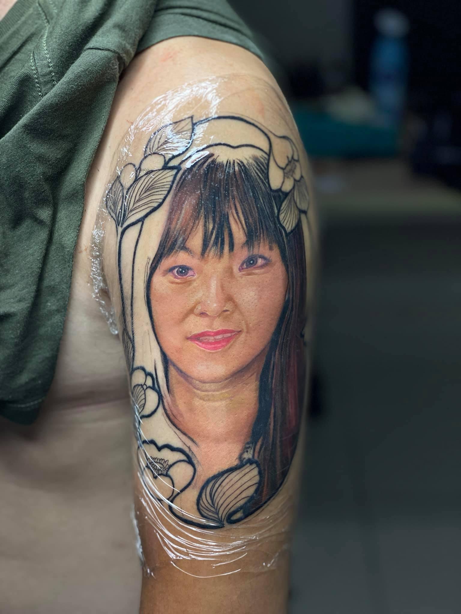 Hình xăm tả thực Micae tattoo