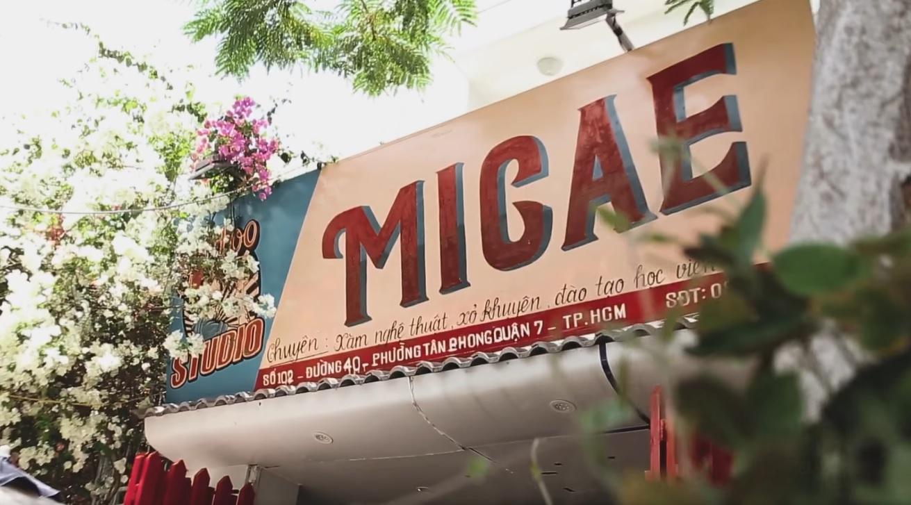 Tiệm xăm quận 7 - Micae tattoo