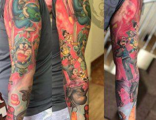 Hình xăm lớn Micae Tattoo & Piercing Sai Gon